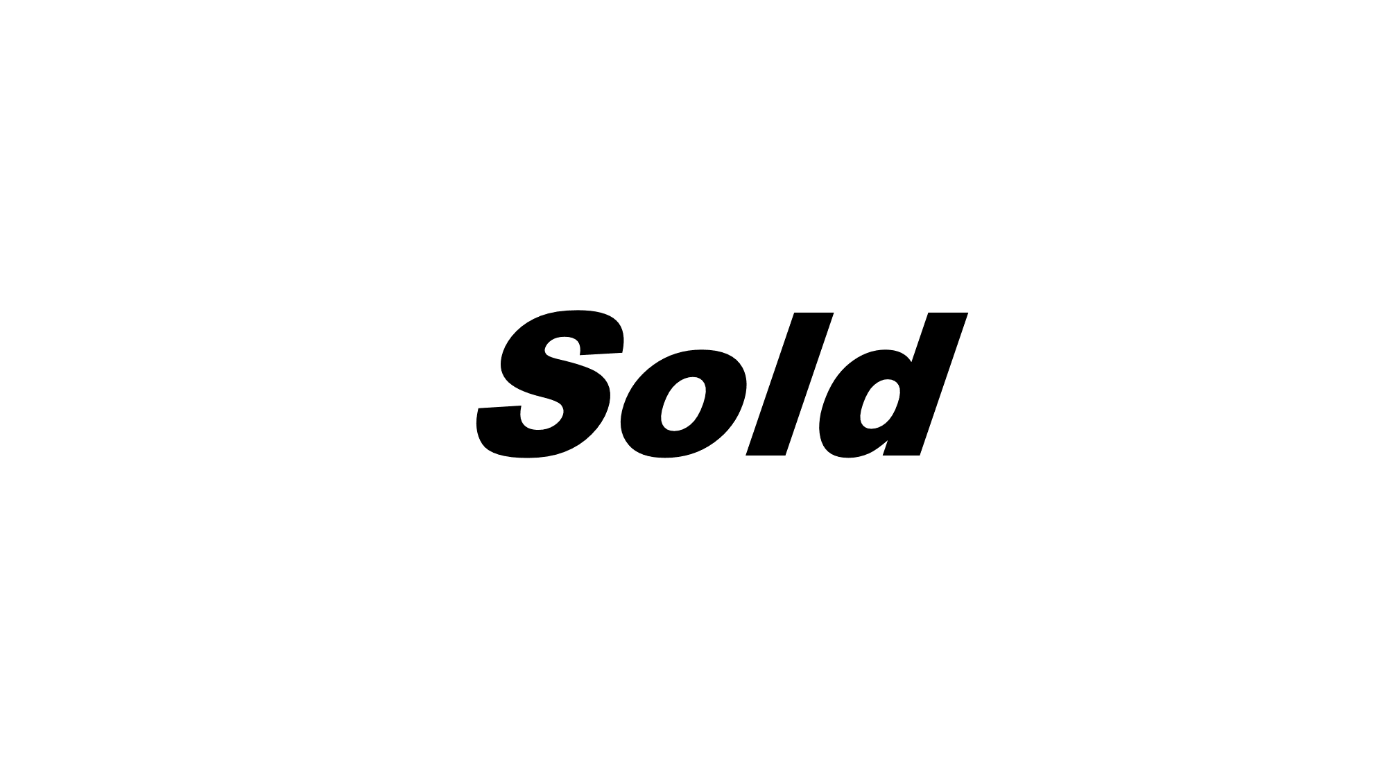 Sold 1